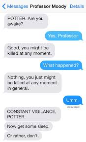 Memes In Text - 12 texts conversations from harry potter characters weknowmemes