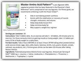 purium master amino acid pattern master amino master amino acid pattern is pre digested 100