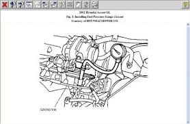 hyundai accent fuel filter fuel pressure engine mechanical problem 2002 hyundai accent