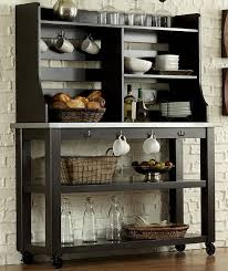 Sei Bakers Rack Elegant Bakers Racks For Kitchen Khetkrong