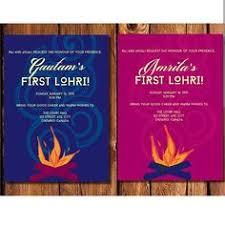 lohri invitation cards lohri invitation his hers by vibrancedesigns on etsy lohri