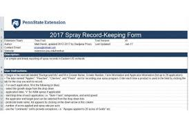 Farm Record Keeping Spreadsheets by To The 2017 Spray Record Keeping Spreadsheet
