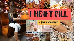 fall lifestyle and home decor must haves and essentials