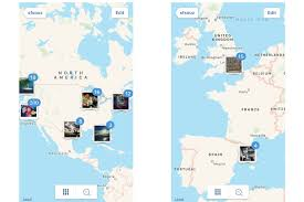 Spain On A World Map by Instagram Is Killing Its Awesome Photo Map Sigh Macworld