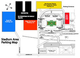 University Of Tennessee Parking Map by Firstenergy Stadium Parking Guide Rates Maps Tips And More
