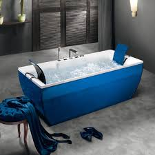 Blubleu by Free Standing Bathtub Acrylic Kali U0027 Color Blu Bleu Videos