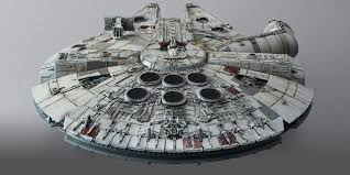Millennium Falcon Floor Plan by 1 144 Scale Millennium Falcon U201cthe Force Awakens U201d Model From Blue