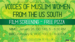Fiu Campus Map Upcoming Events Voices Of Muslim Women From The Us South Fiu
