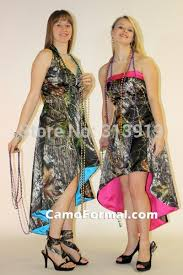 mossy oak camouflage prom dresses for sale front back printing mossy oak high low camo prom dress