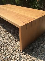 waterfall coffee table wood white oak waterfall coffee table ian ingersoll homepage