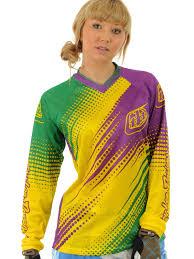 womens motocross gear uk troy lee designs green purple 2012 gp air womens mx jersey troy