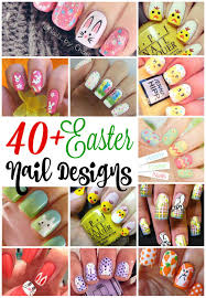 40 insanely cute easter nail designs for your inspiration