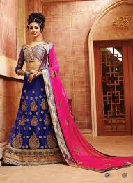 lengha choli for engagement 2016 lenghas shop online durban blue fashion indian