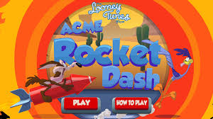 looney tunes acme rocket dash html game forestry games