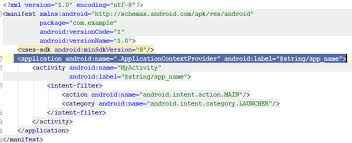 android label android get application context my android solutions