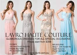 lavro evening wear boutique in south yarra melbourne vic