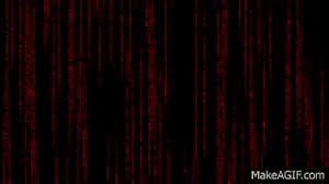 red matrix gif the matrix falling code special red edition full sequence 1920