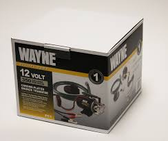 amazon com wayne pc1 portable 12v battery powered water transfer