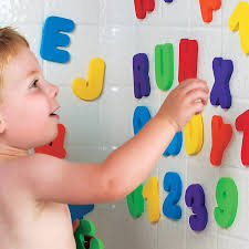 amazon com munchkin letters and numbers bath toys 36 count