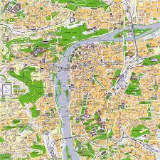 Hop On Hop Off New York Map by City Maps Stadskartor Och Turistkartor Travel Portal