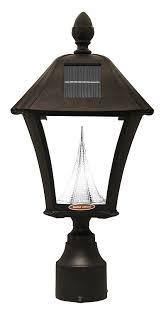 amazon com gama sonic baytown solar outdoor led light fixture