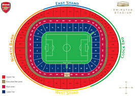 the emirates stadium plans london england world stadium plans