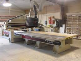 used cnc router table cnc router komo vr 512 komo vr 512 mach one cnc router