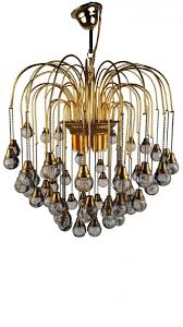 Murano Chandeliers For Sale Murano Dark Crystal Waterfall Chandelier By Paolo Venini 1960s