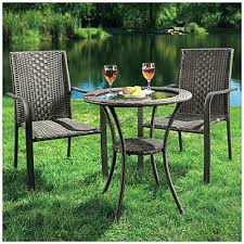 Big Lot Patio Furniture by Eastham 3 Piece Patio Bistro Set 3 Piece Bistro Patio Furniture