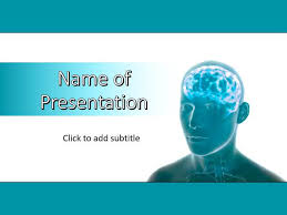 templates for powerpoint brain human brain power point template free download