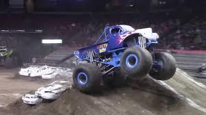 monster truck videos freestyle nasty boy monster truck freestyle utah february 2016 youtube