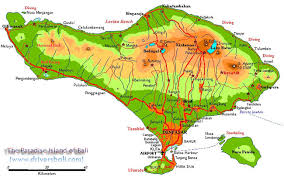 bali indonesia map map bali indonesia