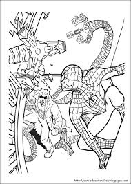 spiderman coloring sheets jdj spiderman creative