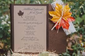 fall wedding invitations my diy fall wedding invitations weddingbee photo gallery