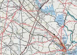 Interstate Highway Map South Carolina Aaroads Interstate 95