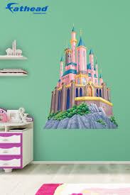 best images about disney princess themed bedroom pinterest disney princes castle you hate putting holes your walls fathead wall decals