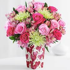 Flowers Delivered With Vase Send Flowers Online For Less With Proflowers