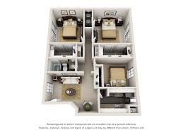 Apartment Complex Floor Plans One And Two Bedroom Apartments In Houston Tx