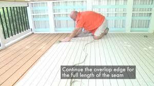 Laminate Flooring Seams Infinity Lwv Seam Installation Youtube