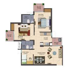study room floor plan cosmos shivalik homes 2 noida extension flats price list
