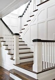 great spindle staircase ideas 1000 ideas about stair spindles on