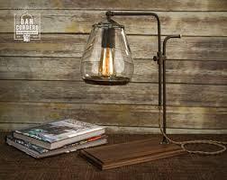 Edison Table Lamp Globe Edison Table Lamp Desk Lamp Edison Light Bulb Home
