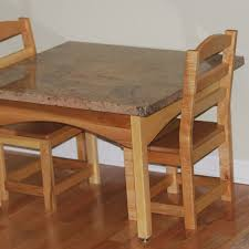 Childs Wooden Desk Hand Crafted Childrens Table And Chair Set By Memphis Woodwork U0027s