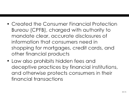 us federal trade commission bureau of consumer protection chapter 48 the federal trade commission act and consumer protection