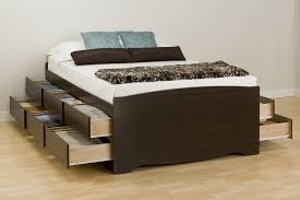 Plans For Platform Bed With Drawers by King Platform Bed With Drawers Plans King Platform Bed With