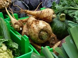 Green Root Vegetable - getting familiar with my irish roots vegetable gardener