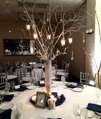 tree branch centerpiece wedding home decorating ideas