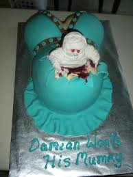 ghouly gorey baby shower cake cakecentral com
