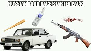Russian Car Meme - russian starter pack