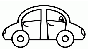 related simple car coloring pages item 17392 printable simple car